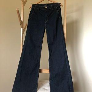 7FAM High-Waist Trouser Jeans